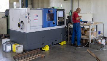 CNC forgácsoló berendezés a Metalwolfnál